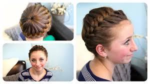 updos cute girls hairstyles youtube starburst crown braid updo hairstyles cute girls hairstyles