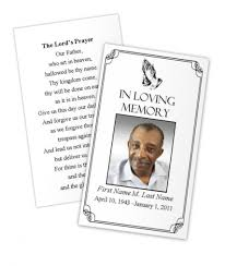 funeral memorial cards make your own memorial cards best professional templates