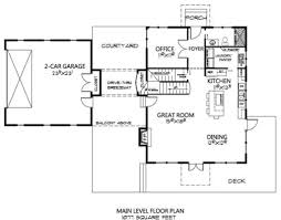 Courtyard Style House Plans by Cottage Style House Plan 2 Beds 2 00 Baths 2178 Sq Ft Plan 133 110