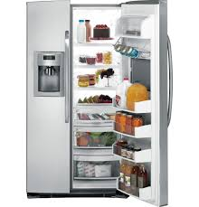 kitchen appliance companies ge energy star 25 9 cu ft side by side refrigerator with
