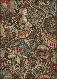 tayse area rugs capri rugs 1010 brown 5x8 6x9 rugs rugs also 6x9