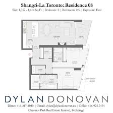 Residence Floor Plans Shangri La Toronto Residence Floor Plans Residence 08