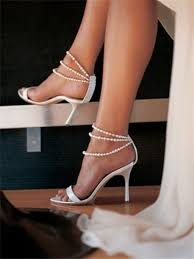 wedding shoes ankle shoes lammiiaa white pearl ankle straps wedding shoes pearl