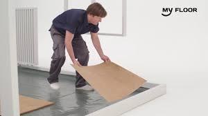 Laminate Flooring Click How To Install Click Laminate Flooring Youtube