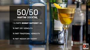 gin martini i had no idea what a 50 50 martini was until i made it and my