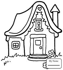 houses arts culture english house coloring pages for kids