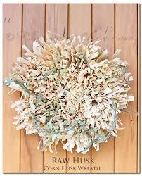 raw husk corn husk wreath kleinworth u0026 co