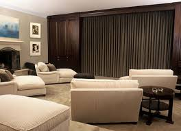 Cool And Minimalist Home Theater Design With Sofa Furnitures - Designs of furniture for home