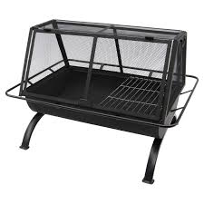 Firepit And Grill by Landmann Northwoods 35 In Rectangle Fire Pit Hayneedle