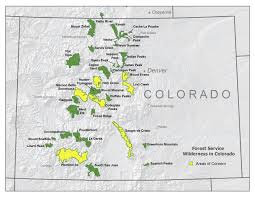 Colorado Population Map Us Forest Service Rocky Mountain Region Wilderness Training