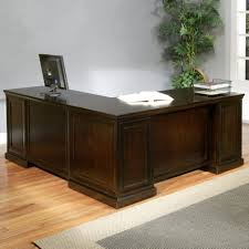 Cherry Desk With Hutch L Shaped Executive Desk Cherry Credenza Desk And Hutch Black Desk
