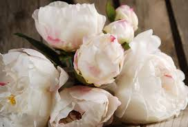 artificial peonies bouquet silk flowers