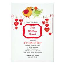 post wedding brunch invitation wording wedding invitation exle wedding ideas