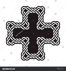 cros tattoo celtic cross tattoo stock vector 487671715 shutterstock