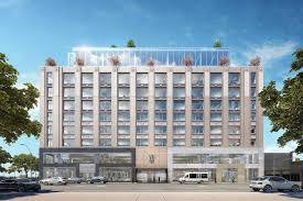 manhattan u0027s auto row is attracting office developers wsj