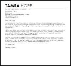 sample cover letter for resignation letter of resignation weeks