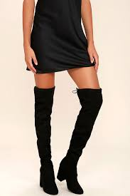 steve madden s boots canada steve madden norri boots black suede boots the knee boots