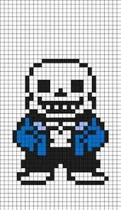 Sans Policy Templates by Napstablook Undertale Perler Bead Pattern Pixel Templates