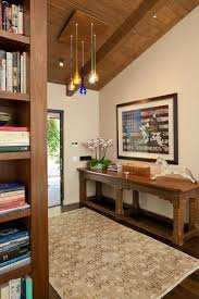 craftsman entryway with exposed beam by susan jay design zillow