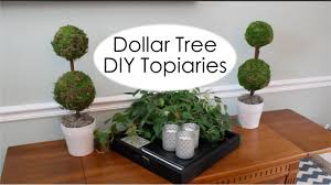 dollar tree decor pottery barn inspired topiary