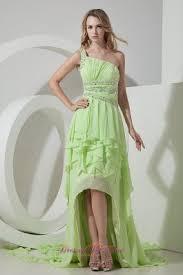 yellow green prom dresses