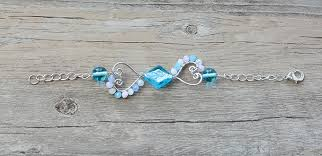 make beaded charm bracelet images Wire wrapping heart beaded charms bracelet diy henry craft jewels jpg
