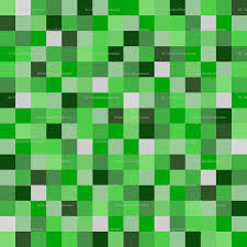 minecraft wrapping paper 8 bit darker green pixels 1 5 giftwrap joyfulrose spoonflower