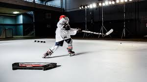 synthetic ice by hockeyshot 1 fake ice rink surface hockeyshot