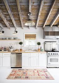 tapis pour cuisine tapis dans la cuisine idées déco et inspiration côté maison