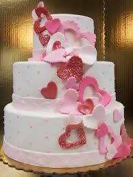 heart wedding cake 3 tier fondant heart wedding cake oteri s italian bakery from