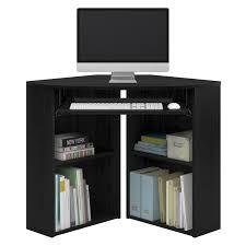 Ameriwood Corner Desk Ameriwood Home Caleb Corner Desk In Black Ash 92026pcom