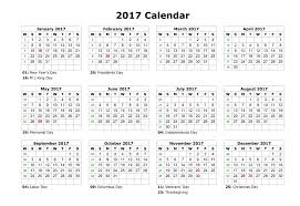 2018 calendar with federal holidays templetes inside 2017 federal
