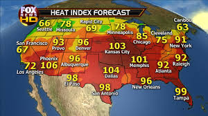 Weather Map Atlanta by Storms And Heat Fox News Weather Blog