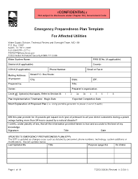 business continuity emergency response plan template good cv making