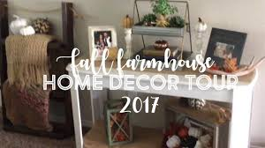 fall farmhouse home decor tour 2017 youtube