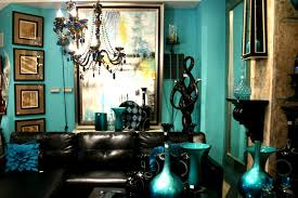 blue and gold decoration ideas cool teal home decor for and summer