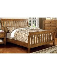 Oak Sleigh Bed New Savings On Furniture Of America Laurencio Sleigh Bed