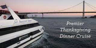 premier thanksgiving dinner cruise at hornblower cruises events