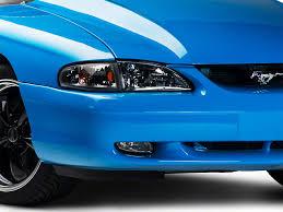 1994 mustang gt headlights axial mustang black cobra style headlights 49050 94 98 all