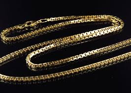 chain necklace style images Solid genuine 10k yellow gold box style 2 5mm chain necklace 24 30 ins jpg
