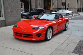 Dodge Viper Red - 1993 dodge viper rt 10 stock gc1842b for sale near chicago il