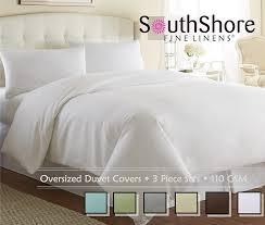 amazon com southshore fine linens 3 piece oversized duvet cover