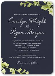 wedding invatations budding 5x7 wedding invitation cards shutterfly