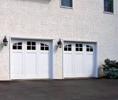 2 Door Garage by Symphony Series Quality Crafted Vinyl Garage Doors Artisan