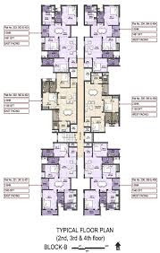 3 Bhk Apartment Floor Plan by Floor Plan Vgn Developers Pvt Ltd Vgn Stafford At Ambattur