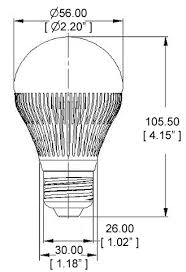 a19 led bulb 30 watt equivalent globe bulb open box led