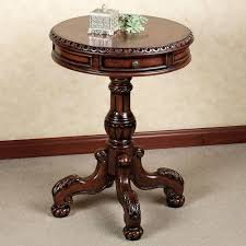 round oak end table beautiful round oak end table decor coffee tables simple small