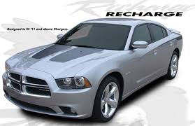 dodge charger graphics dodge charger recharge vinyl graphics kit