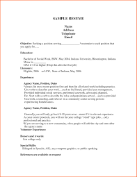 Job Resume With Experience by First Job Resume Template Best Business Template