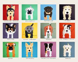 dog wall prints puppy dog themed nursery wall art dog print
